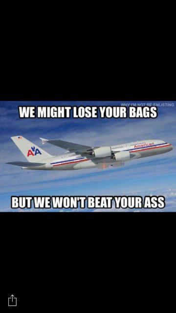 overbooked flight
