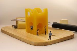 Cheese Board Mousetrap